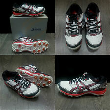 CRICKET Spikes ASICS GEL ADVANCE 4 Men's Shoes boots White COD. P114Y 0129