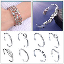 New Charm Special crystal Bangle Fashion Silver Bracelet women's Jewelry Gifts
