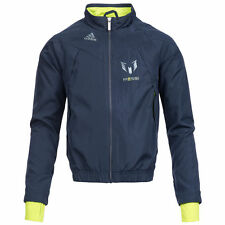 Kids Boys Adidas Lionel Messi Woven Track Top Nightshade/Solarslime F48968