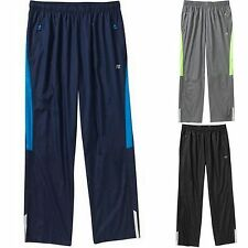 RUSSELL BIG MEN'S WOVEN TRACK PANTS EXERCISE LOUNGE ELASTIC WAIST & DRAWSTRING