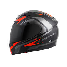 Scorpion EXO-R710 Focus Red/Black Snell Full Face Motorcycle Riding Helmet