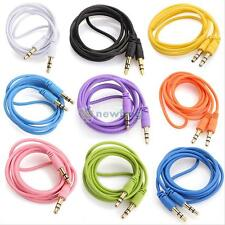 AUX CABLE Male to Male Auxiliary Audio Cord 3.5mm For Car iPhone iPod Cellphone
