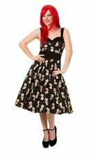 Distractions Halter Dress - voodoo doll pins cute alternative goth emo *BANNED*