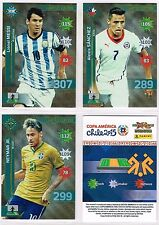 LIMITED EDITION 'Copa America 2015' Panini ADRENALYN XL Football Trading Cards