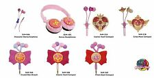Sailor Moon Stereo Earphone Headphone genuine from Japan NEW Gourmandise BANDAI