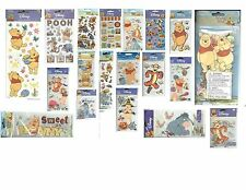 DISNEY WINNIE THE POOH TIGGER EEYORE PIGLET Dimensional Stickers Scrapbook PIck