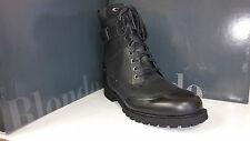 Blondo Radley Mens Waterproof Black Leather Winter Military Boots size 8-13