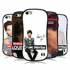 OFFICIAL ONE DIRECTION 1D LOUIS TOMLINSON PHOTO HYBRID CASE FOR APPLE iPHONE 5S