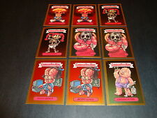 Garbage Pail Kids ANS1 All New Series 1 Gold Foil Matte Cards You Pick #19a-25b