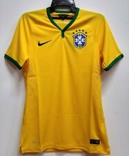 BNWT BRAZIL HOME AUTHENTIC WORLD CUP KIT FOOTBALL SOCCER JERSEY TRIKOT 2014