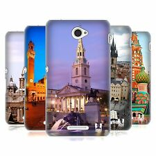 HEAD CASE DESIGNS FAMOUS CITY SQUARES HARD BACK CASE FOR SONY XPERIA E4