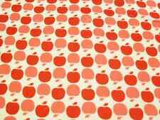 Apple Dots 100% Cotton PUL fabric for nappies & wetbags