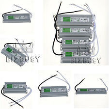 12V DC High Power Supply Transformer Adapter LED Driver IP68 Waterproof 10W-150W