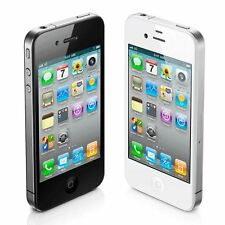 "New Apple iPhone 4S 8GB ""Factory Unlocked"" Black and White Smartphone"