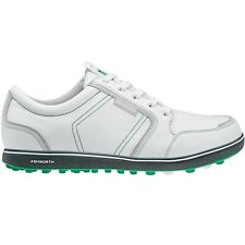 NEW MEN'S ASHWORTH CARDIFF ADC GOLF SHOES WHITE/FAIRWAY G54298 - PICK YOUR SIZE