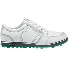 NEWMEN'S ASHWORTH CARDIFF ADC GOLF SHOES WHITE/FAIRWAY G54298 - PICK YOUR SIZE