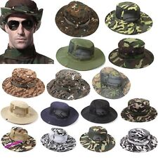 Bucket Hat Boonie Hunting Fishing Outdoor Cap Wide Brim Military Unisex Sun Camo