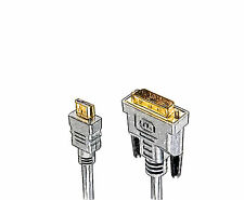 1.8m/30cm Sketch HDMI to DVI-D Cable Full HD 1080p for HDTV LCD TV XBox 360 PS3