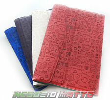 COVER UNIVERSALE STAND PER TAB TABLET 7 POLLICI SMART FLIP COVER IN ECO PELLE