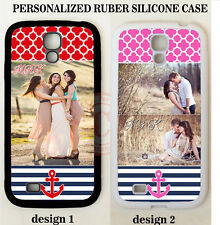 PERSONALIZED PHOTO CASE FOR SAMSUNG GALAXY S7 S6 NOTE 5 Custom IMAGE NAVY ANCHOR