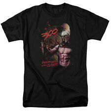 300 Movie Prepare For Glory Officially Licensed Warner Bros Licensed Adult Shirt
