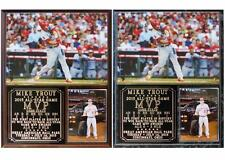 Mike Trout #27 2015 All-Star Game MVP Los Angeles Angels Photo Plaque