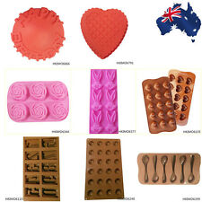Chocolate Cake Ice Candy Cookie Jelly Mould Mold Silicone Bakeware Baking HKIMO