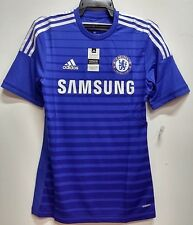 BNWT CHELSEA HOME AUTHENTIC PLAYERS' VERSION 2014 2015 FOOTBALL SOCCER JERSEY