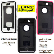 """Otterbox Defender Series Case for Apple iPhone 6 4.7"""" Black Grey White Pink"""