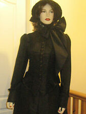 VICTORIAN / STEAMPUNK  'Woman in Black' inspired outfit / costume/ fancy dress