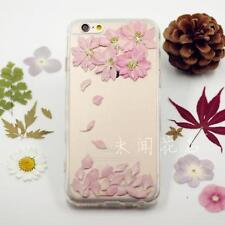 Dry Pressed Flowers iphone 5 5s 5c 6 6 plus Samsung case cover pink flowers cute