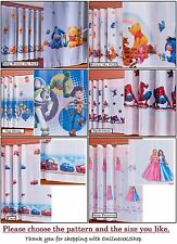 HQ Belle Disney voile net rideaux carstoy story Winnie the Pooh Spiderman