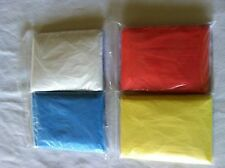 Lot of 12 rain poncho emergency rain coat one size fits all US seller