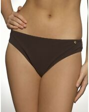 Figleaves Swimwear Waikiki Classic Bikini Brief Bottoms Chocolate Brown