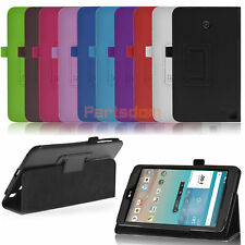 Folio PU Leather Case Stand Cover For LG G Pad F 8.0 8 Inch V495 V496 Tablet