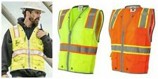 ML Kishigo - Brilliant Series Heavy Duty Safety Class 2 Vests 1510-1511 - M-5XL