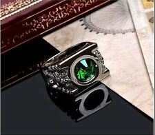 FREE HOT Green Lantern Ring Austrian Crystal Ring Justice League