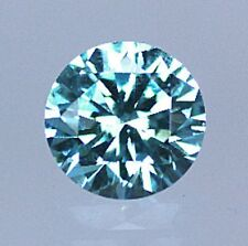 AAA Rated Round Faceted Bright Aquamarine Blue Green Cubic Zirconia (2mm-16mm)