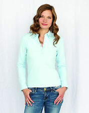 Ladies Long Sleeve Modern Polo Shirt by Skinni Fit - Girlie Polo Shirt SK044