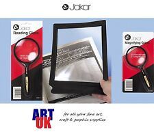 Jakar Magnifying Reading Glass Sheet Credit Card and All Sizes Mini Flexible Aid