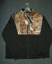 HABIT by Mahco Outdoors Fleece Jacket  RealTree AP Camo & Black FJ1208-105