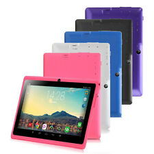 """5 Colors iRulu 7"""" 16GB Android 4.4 Tablet PC Quad Core Dual Cam Wifi w/ Earphone"""