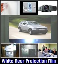 W:60/Rear Projection Film/White/Projector/Screen/Material/Window/Glass/ARCHISTAR