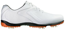 FootJoy Hydrolite Golf Shoes 50017 White/Orange Mens Closeout New
