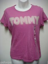 NWT TOMMY WOMEN'S SHORT CAP SLEEVE GREEN OR PINK T-SHIRT SHIRT TOP