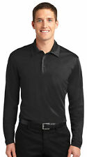 Port Authority Silk Touch Dri-Fit Long Sleeve Polo Shirt NEW S-4XL GOLF K540LS