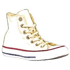 Converse All Star Hi - Men's Basketball Shoes (Cream/Off White Width:Medium)