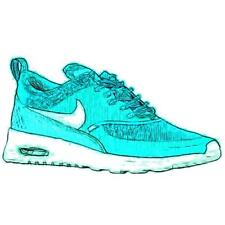 Nike Air Max Thea - Women's Running Shoes (LT Retro/Artisan Teal Width:Medium)