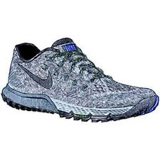 Nike Zoom Terra Kiger 3 - Men's Running Shoes (Cool GY/Anthracite/Ghost GN/BK W