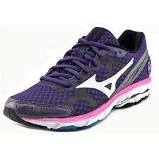 Mizuno Wave Rider 17   Round Toe Synthetic  Running Shoe